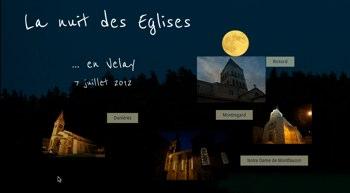La nuit des églises en Velay
