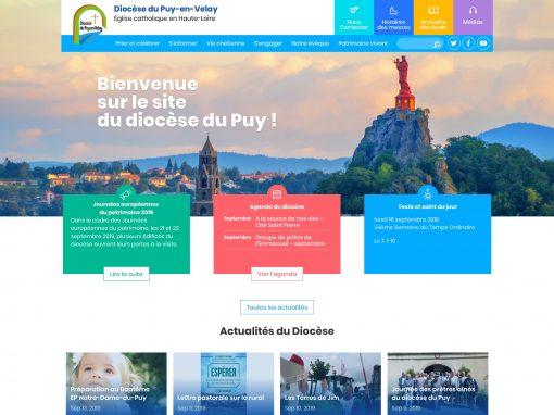 Site Internet du diocèse du Puy